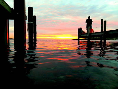 Photograph - Sitting On The Dock Of The Bay by Mark Lemmon