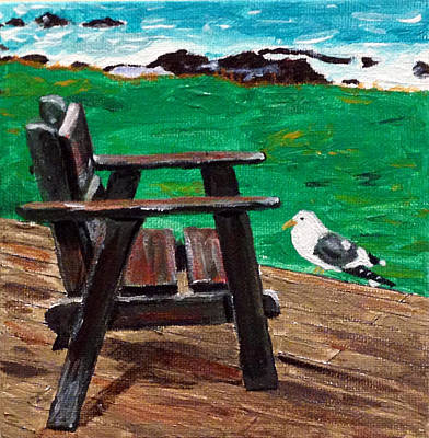 Painting - Sitting On The Edge Of The World by Kevin Callahan
