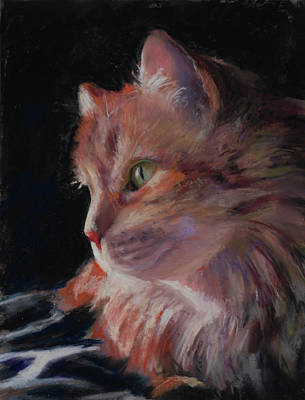 Painting - Sitting Pretty  by Billie Colson