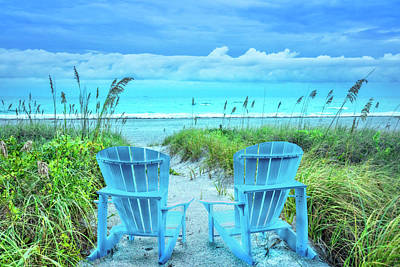 Photograph - Sitting Pretty In The Dunes by Debra and Dave Vanderlaan