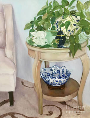 Painting - Sitting Pretty by Marlene Book