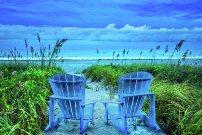 Photograph - Sitting Pretty On A Dreamy Morning by Debra and Dave Vanderlaan