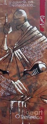 Chum Painting - Siu Nim Tau A Ideia Inicial by Brasil Goulart