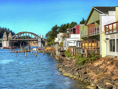 Photograph - Gorgeous Siuslaw Riverfront by Thom Zehrfeld