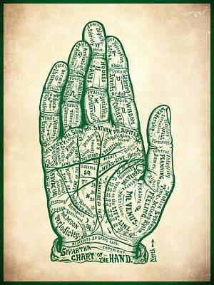 Painting - Sivartha Hand by Gary Grayson