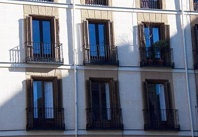 Photograph - Six Balconies by David Resnikoff