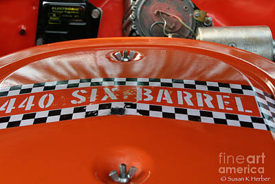 Photograph - Six Barrel by Susan Herber