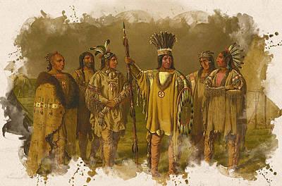 Six Blackfeet Chiefs  Original