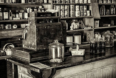 Carter Photograph - Six Cents - Sepia by Stephen Stookey