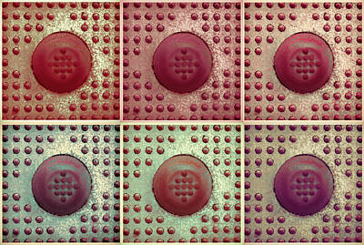 Photograph - Six Panel Dot And Cube Landscape by Tony Grider