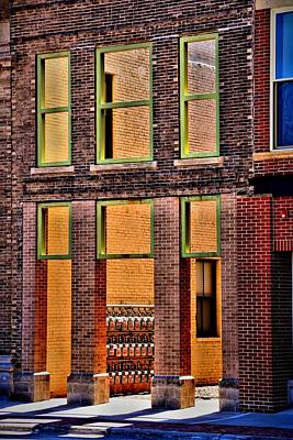 Photograph - Six Green Windows by Kyle West