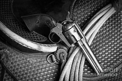 Photograph - Six Gun by Jon Burch Photography