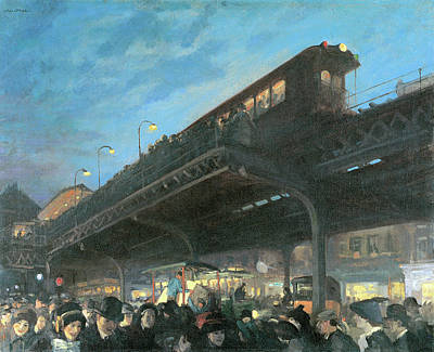 Photograph - Six O Clock  by John Sloan
