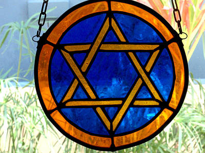 Pentagram Photograph - Six Pointer Star Of David by Edan Chapman