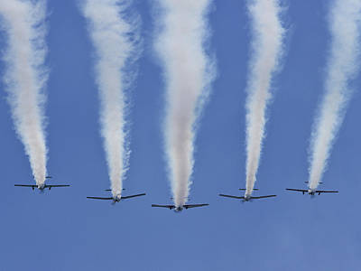 Photograph - Six Roolettes In Formation by Miroslava Jurcik