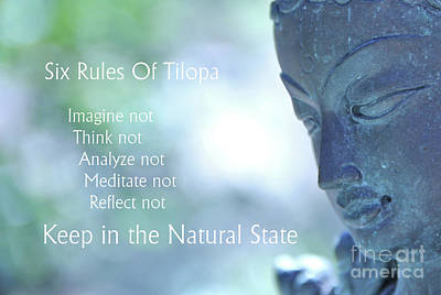 Photograph - Six Rules Of Tilopa by Agnieszka Ledwon