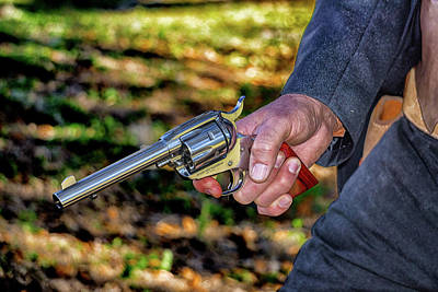 Photograph - Six Shooter by Dennis Dugan