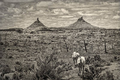 Photograph - Six-shooter Peaks by Lou  Novick
