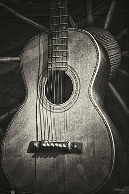 Photograph - Six String by Debby Richards