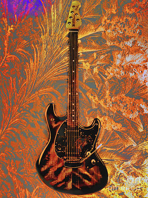 Photograph - Six String Guitar by Steven Parker