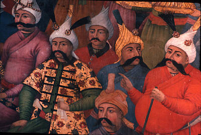 Six Sultans Art Print by Carl Purcell