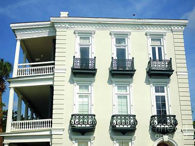 Photograph - Six Windows On The Battery Charleston by John Rizzuto