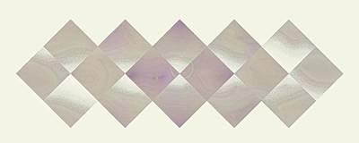 Digital Art - Sixteen Box Gray Pastel-5 by Doug Morgan
