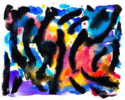 Painting - Sixteen by Expressionistart studio Priscilla Batzell