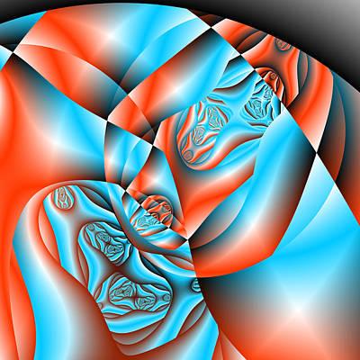 Digital Art - Sixteented by Andrew Kotlinski