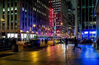 Photograph - New York Sixth Avenue by M G Whittingham
