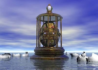 Surrealism Digital Art - Sixth Sense - Surrealism by Sipo Liimatainen