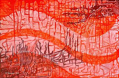 Painting - Sixty Shades Of Red by Hemu Aggarwal