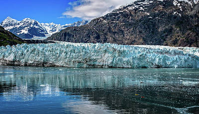 Photograph - Size Perspective No Margerie Glacier by John Hight