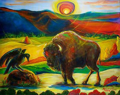 Sizzle On The Oklahoma Prairie Original