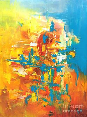 Painting - Sizzle by Preethi Mathialagan
