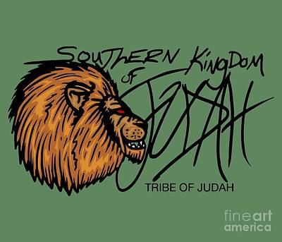 Digital Art - Sk Of Judah by Robert Watson