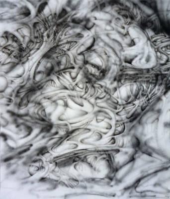 Skab Print by David Frantz