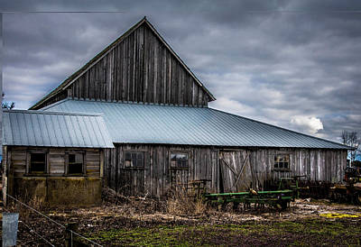 Photograph - Skagit Barn by Steph Gabler