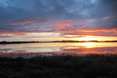 Photograph - Skagit County Sunset by Karen Molenaar Terrell