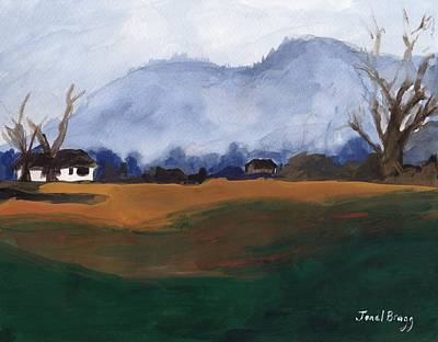 Washington State Skagit County Painting - Skagit Flats by Janel Bragg