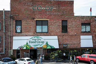 Photograph - Skagit Valley Co-op by Tom Cochran