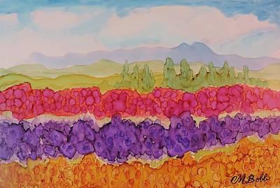Skagit Painting - Skagit Valley Color by Margaret Bobb