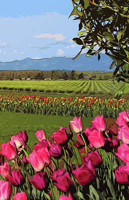 Painting - Skagit Valley - Landscapes Of America by Andrea Mazzocchetti