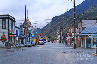 Photograph - Skagway Alaska Sept. 2015 by California Views Archives Mr Pat Hathaway Archives