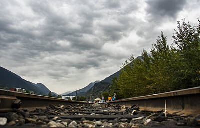 Robin Williams Photograph - Skagway Tracks by Robin Williams