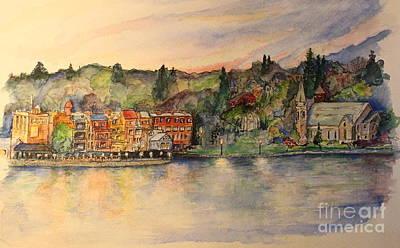 Painting - Skaneateles Ny by Melanie Stanton
