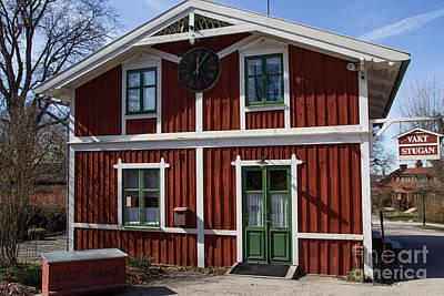 Photograph - Skansen Building by Suzanne Luft