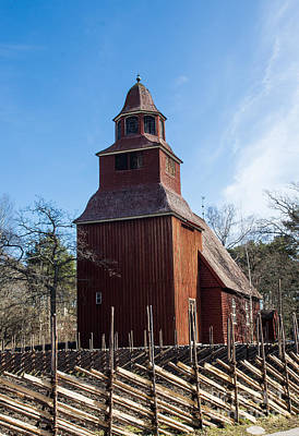 Photograph - Skansen Church by Suzanne Luft
