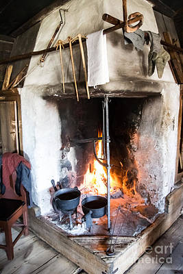 Photograph - Skansen Fire by Suzanne Luft