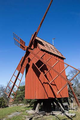 Photograph - Skansen Windmill by Suzanne Luft